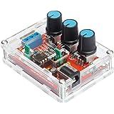 KKmoon XR2206 Signalgenerator DIY Kit 【Hohe Präzision Funktion/Sinus Dreieck Quadrat Ausgabe/1Hz - 1MHz Einstellbar Frequenz Amplitude】