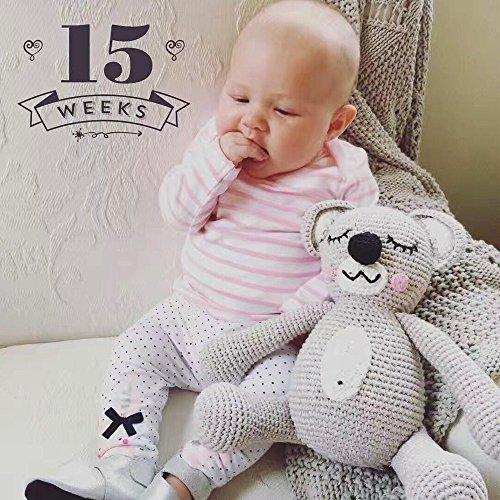 Hiltow Cute Little Bear Crochet Knit Toy For Newborn Baby Girls Boys Photography Prop Photo