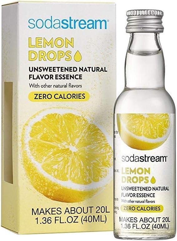 SODASTREAM USA INC Lemon Drops 1.36oz, 1, White and Yellow