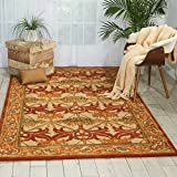 Nourison India House (IH86) Beige Rectangle Area Rug, 3-Feet 6-Inches by 5-Feet 6-Inches (3'6'' x 5'6'')
