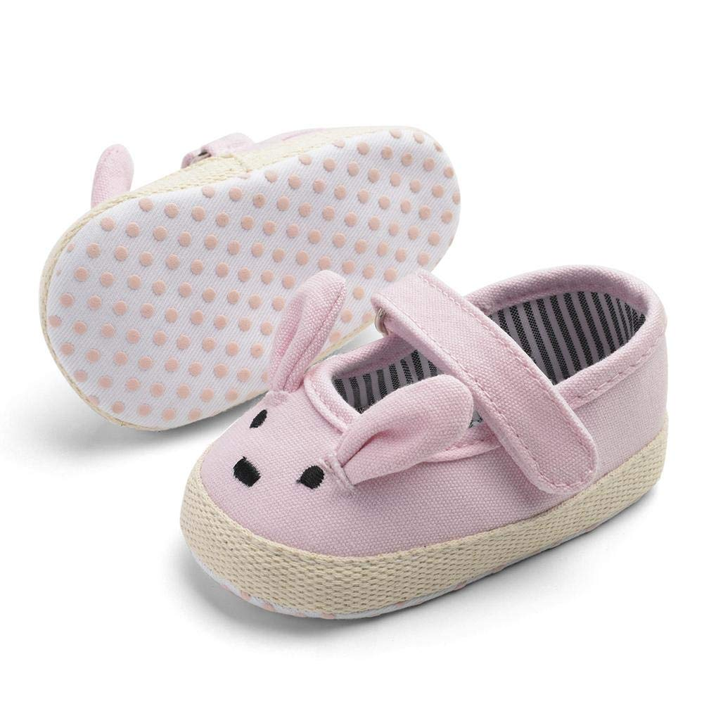 Baby Prewalker Easter Rabbit Casual Shoes Fashion First Walkers Anidalec Pink 12cm