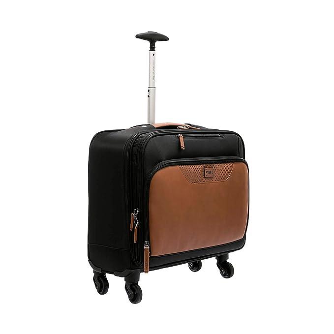 Amazon.com | Velez Men Vintage Genuine Colombian Leather Vintage Luxury Spinner Suitcase Roller Carry on | Maletas y Morrales de Cuero Colombiano de Hombres ...