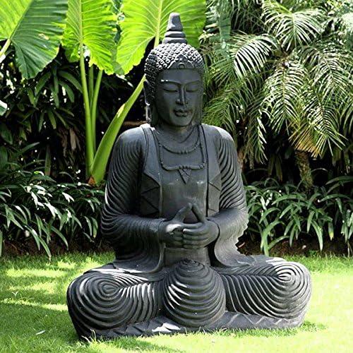 Extra Large Buddha Statue Amazon Co Uk Garden Outdoors