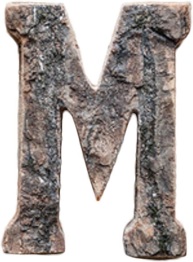 Outflower - Letras de madera estilo vintage grandes para colgar en la pared, madera, M, 10 cm: Amazon.es: Hogar