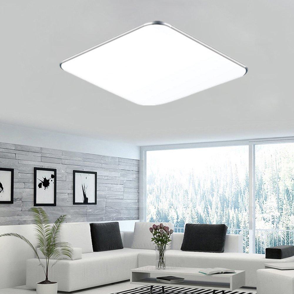 24W Kaltwei/ß, Silber Froadp 24W Ultraslim LED Kinderzimmerlampe Deckenleuchte f/ür Flur Wohnzimmer Kinderzimmer Wand-Deckenlampe Schlafzimmer K/üche Licht
