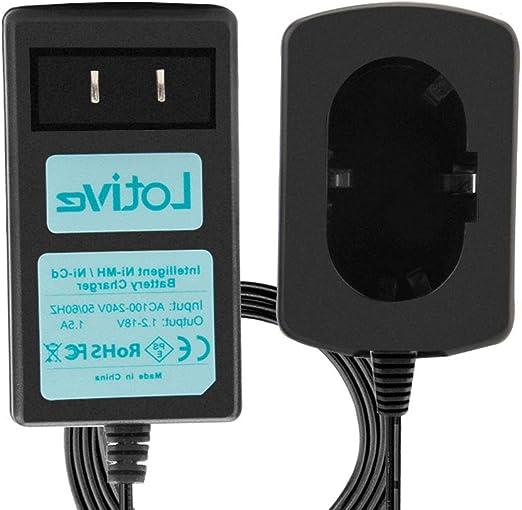 Amazon.com: Cargador de batería Lotive Ni-MH Ni-CD de 1,2 V ...