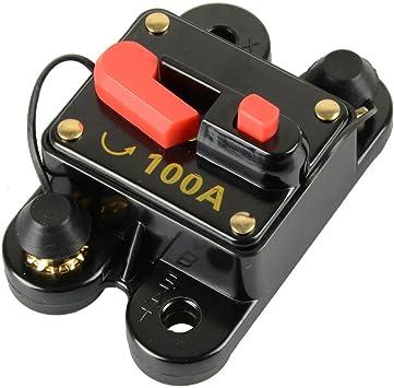 DC12V Sicherungshalter Sicherungsautomat  für Auto Marine Boat Bike Stereo Audio