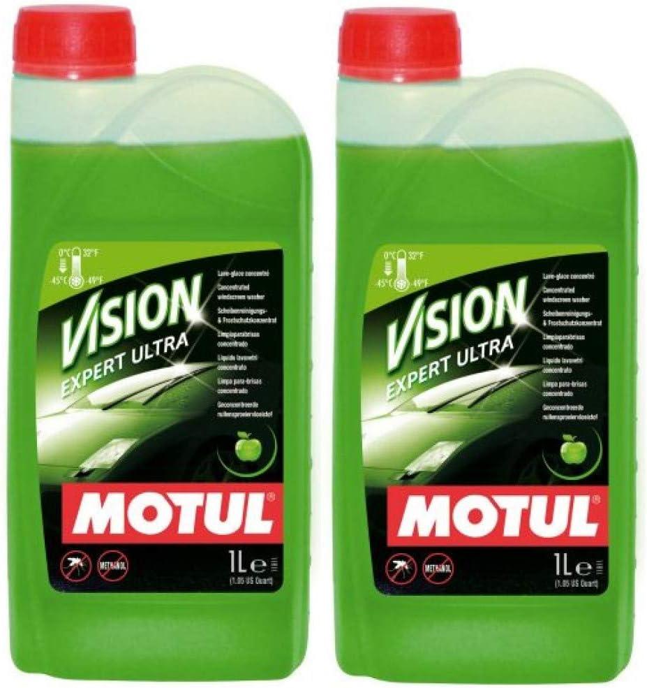 Motul Vision Expert Ultra - Limpiador concentrado para parabrisas (2 L): Amazon.es: Coche y moto