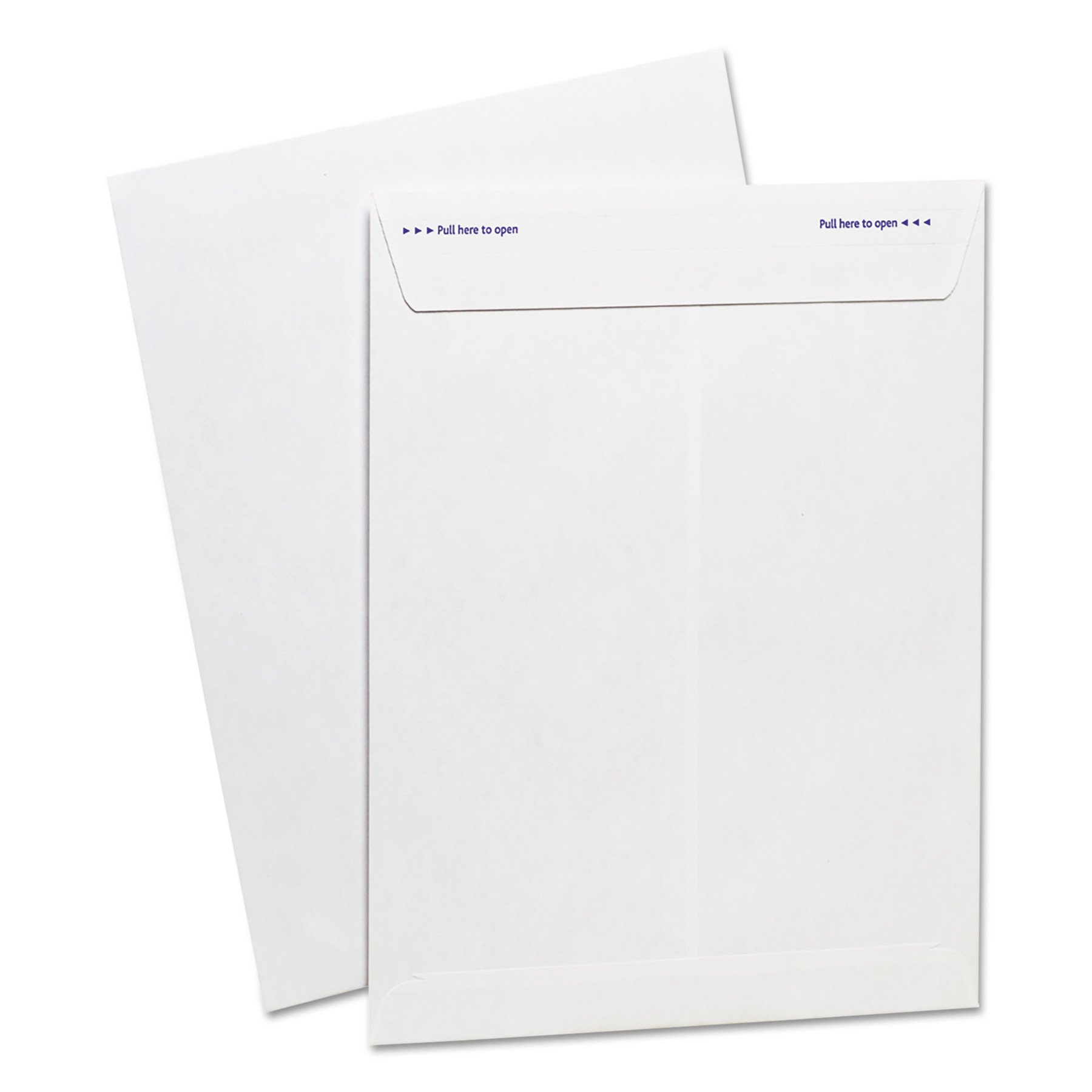 Ampad Fastrip Security Catalog Envelope, 9 Inch x 12 Inch, Peel & Seal Adhesive, Security Tint, Tear-Away Quick-Open Strip, White, 100 Per Box (73127)