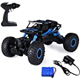 Cable Hunter Off-Road CR 2.4GHz 4WD RC Rock Crawler 1:18 Electric Radio Remote Control Monster Truck (Multicolour, Rock Crawler Monster Truck)