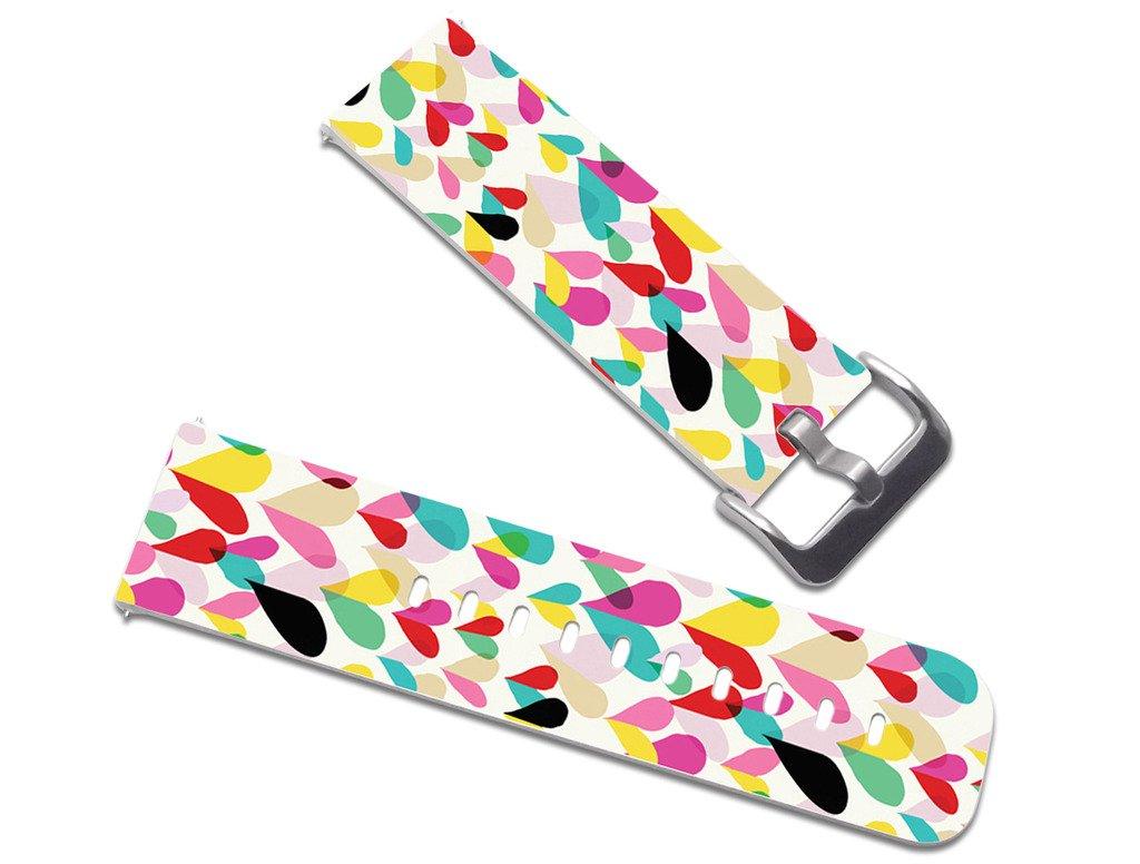 Fitbit Blazeレザーストラップ小型23 mm時計バンドレザー交換用、クイックリリースピンWonderful印象派デザインアート JY23HAOMIXiaoA (22) F31 F31 B01MXYKJDP