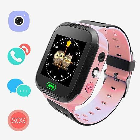 Amazon.com: SzZjYw - Reloj infantil GPRS+LBS para posicionar ...