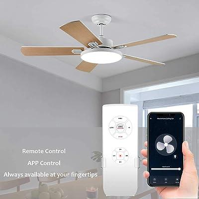 Buy Smart Wifi Fan Switch Ceiling Fan And Light Remote Control Kit Wifi Fan Controller Compatible With Alexa Google Phone App Control No Hub Required Universal Ceiling Fan Light Remote Control Online