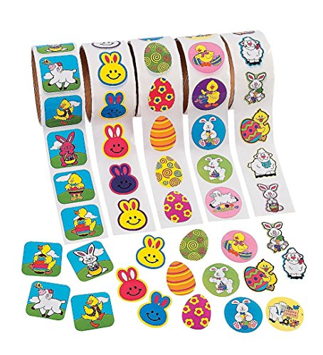 Easter Roll Sticker Assortment  - Kids' Stationery & Station