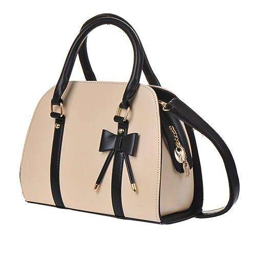 HimanJie Vintage Handtasche für Damen PU Leder Hobo Handbag
