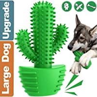 MG+ Cepillo de Dientes para Perro-Limpiador de Dientes de Perro- Limpieza de Dientes de Perro Juguetes para Masticar Cuidado Oral para Mascotas Regalo de Amante de los Animales (Large, Verde Azul)