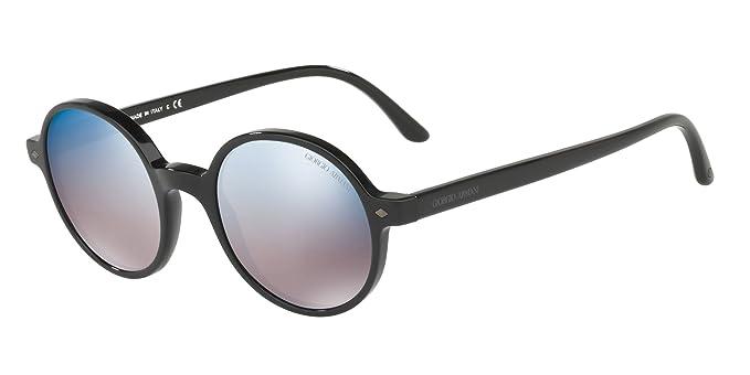 Armani 0AR8097 501704 49, Gafas de Sol para Hombre, Negro ...