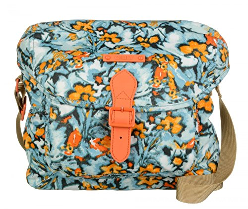 Oilily Camo Flower M Shoulder Bag Blue Mist
