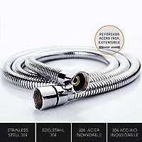 Kibath 190001 Flexo de acero inoxidable para ducha