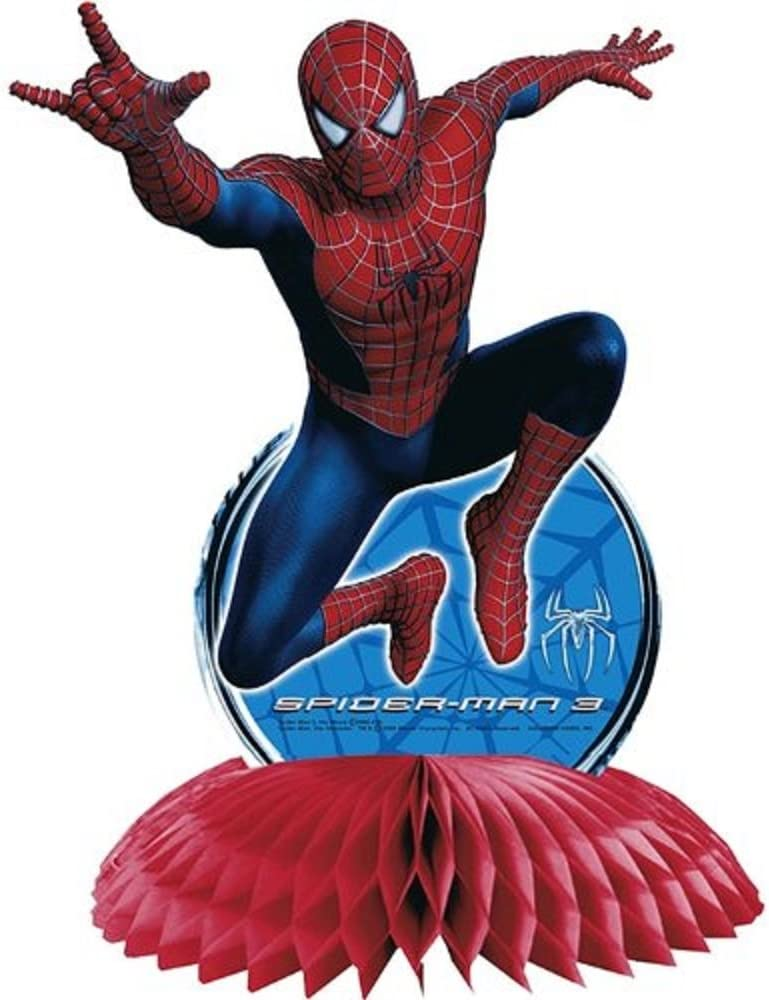 Spider-Man 3 Birthday Party Centerpiece Supplies