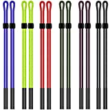 12pcs Eyeglass Holder Straps, maxin Colorful Nylon Braided Safty Eyeglasses Neck Cord String, Sunglass Holder Strap Unisex for Sports and Outdoor Activities.