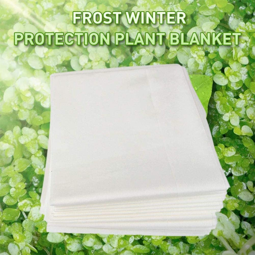 Plant Blanket Anti-UV Reusable Plant Covers for Winter Frost Freeze Protection