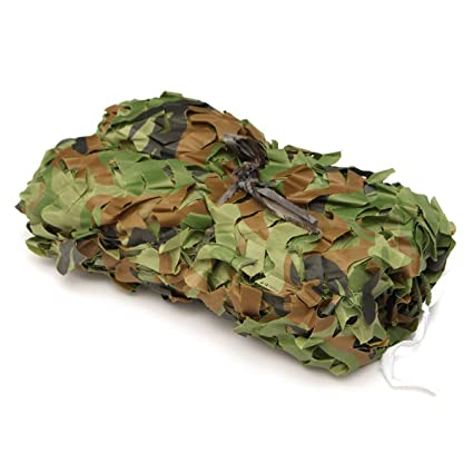 newest best sell famous brand Liyukee Filet de Camouflage, 10x16FT Armée Militaire Chasse Forêt Filet de  Camouflable Camping, Soleil en Plein Air, Thème Parti Décoration, Voiture  ...