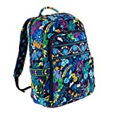 Vera Bradley Laptop Backpack in Midnight Blues