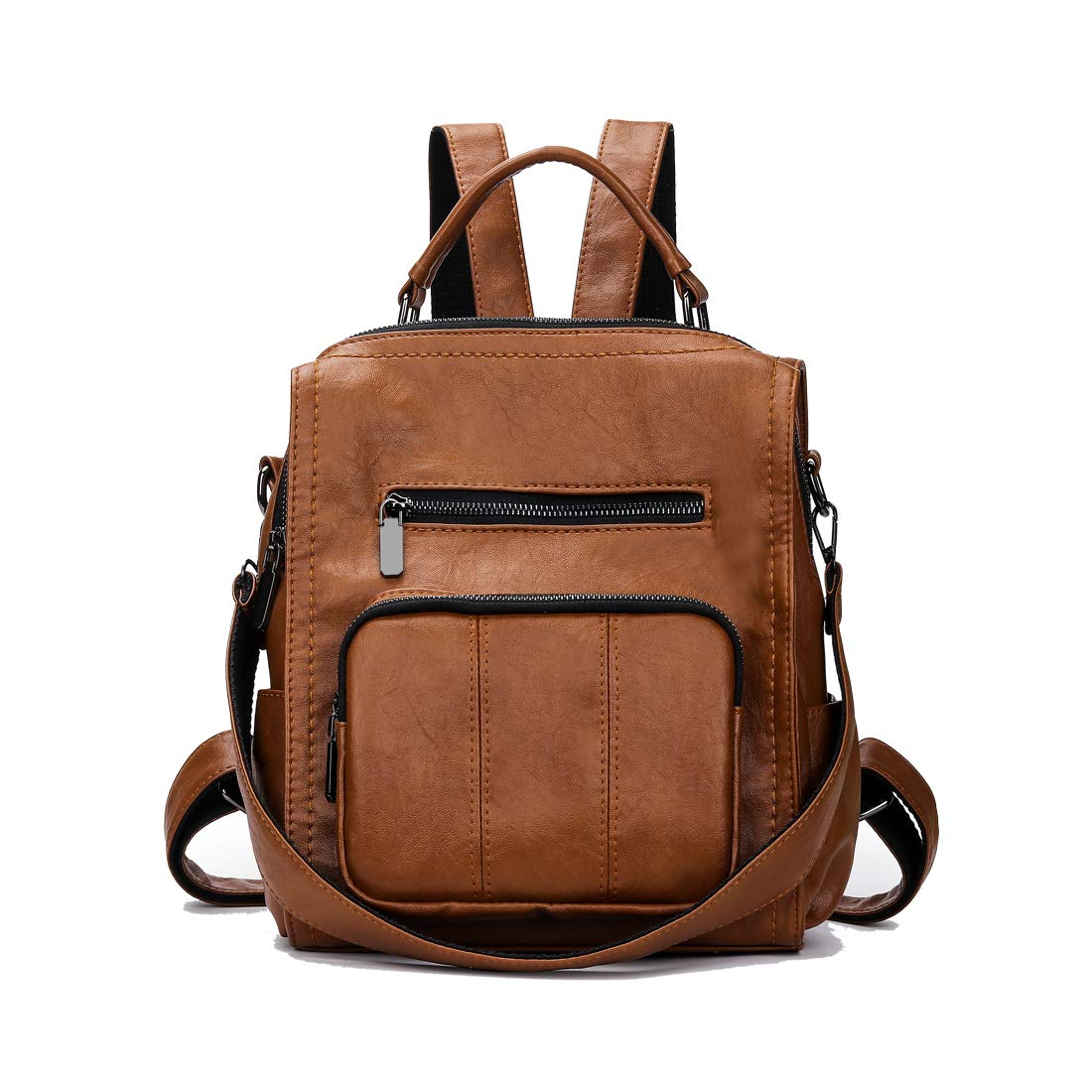 Artwell Women Backpack Purse PU Leather Fashion Shoulder Bag Ladies Rucksack Travel Daypack