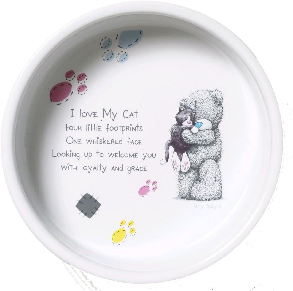 12,7 cm Ciotola in Ceramica per Gatti Pet Brands Me to You