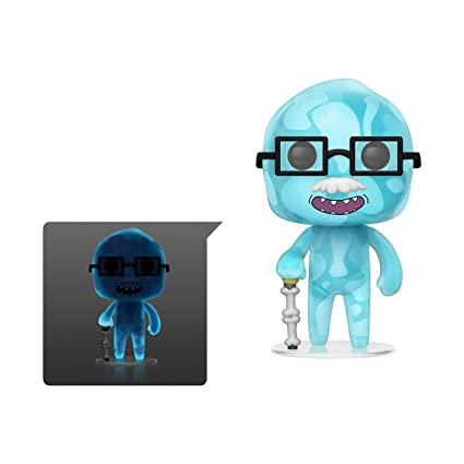 Funko- Pop Figura de Vinilo: Animación: Rick & Morty S6-Dr. Xenon Bloom Coleccionable, Multicolor, Estándar (40252)