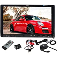 7-inch 2 Din In-dash Car DVD Player Audio Stereo GPS satellite + Car Rear View Camera+ Kudos 4gb Standard Sd GPS Map Card