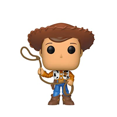 Funko Pop! Disney: Toy Story 4 - Woody: Toys & Games