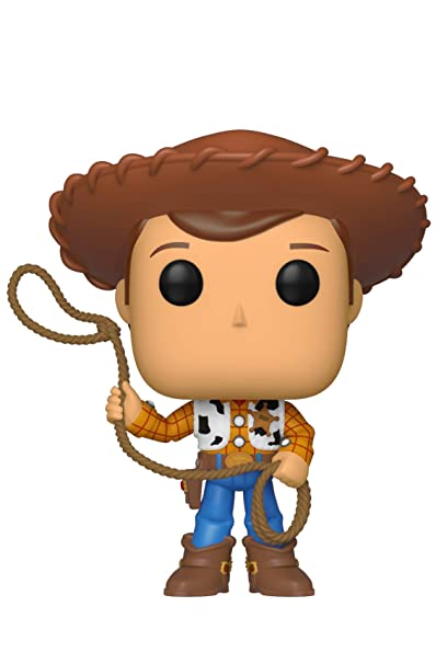 Funko- Pop Vinilo: Disney: Toy Story 4: Woody Figura Coleccionable, Multicolor (37383)