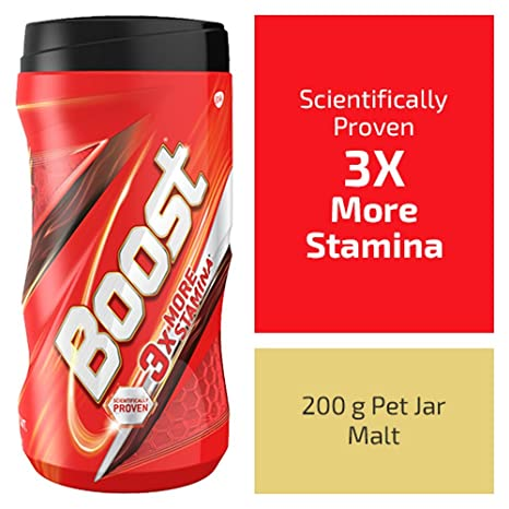 Boost Health, Energy and Sports Nutrition drink - 200 g Pet Jar