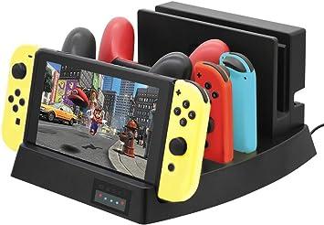 ElecGear Soporte y Estación de Carga compatible con Nintendo ...