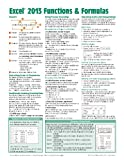 Microsoft Excel 2013 Functions and Formulas Quick Reference Card (4-Page Cheat Sheet Focusing on Examples and Context for Intermed, Beezix Inc., 1936220776