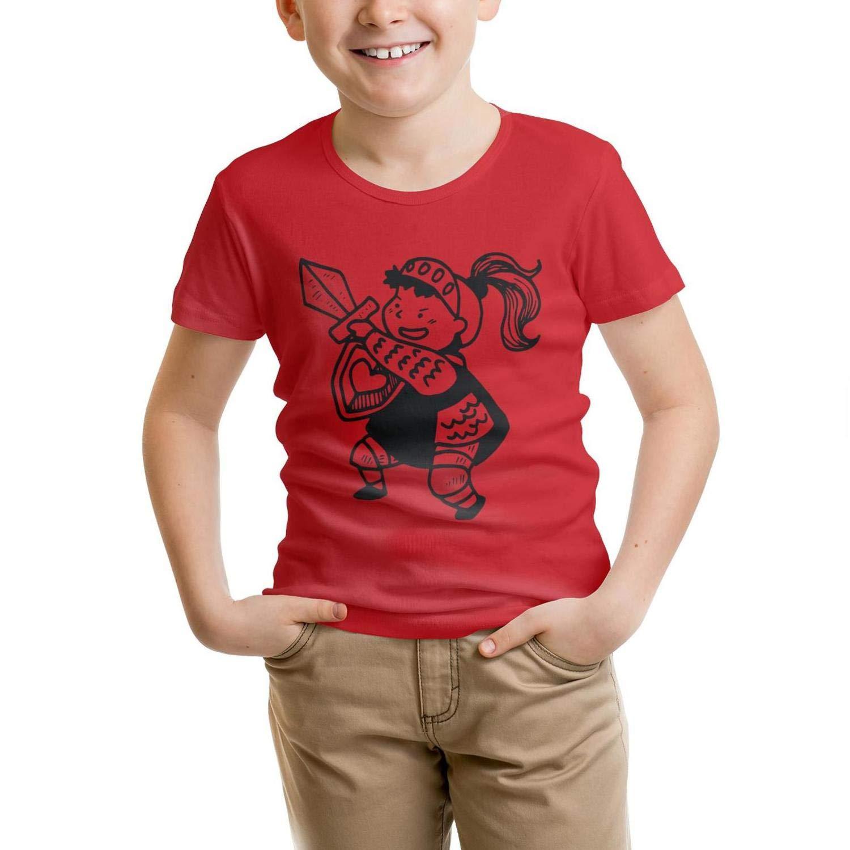 Swordsman 100/% CottonT Shirts Vogue forKids Shirts Laconic Parttern