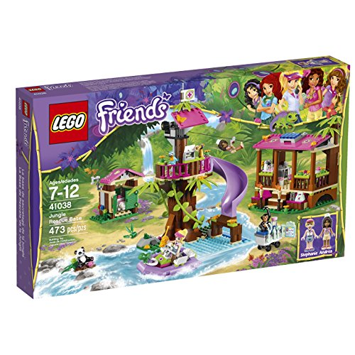 LEGO Friends Jungle Rescue Base Building Set (Jungle Friends Mobile)