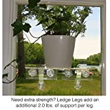 Double Veg Ledge Suction Cup Window Shelf