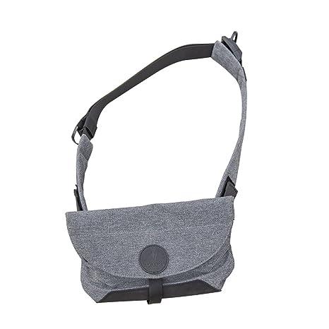 Air Sling: Una Bolsa de Honda Compacta Antirrobo Bolso de Honda a Prueba de Golpes con Carga Externa USB Dise/ñado por ALPAKA Gris Claro Impermeable