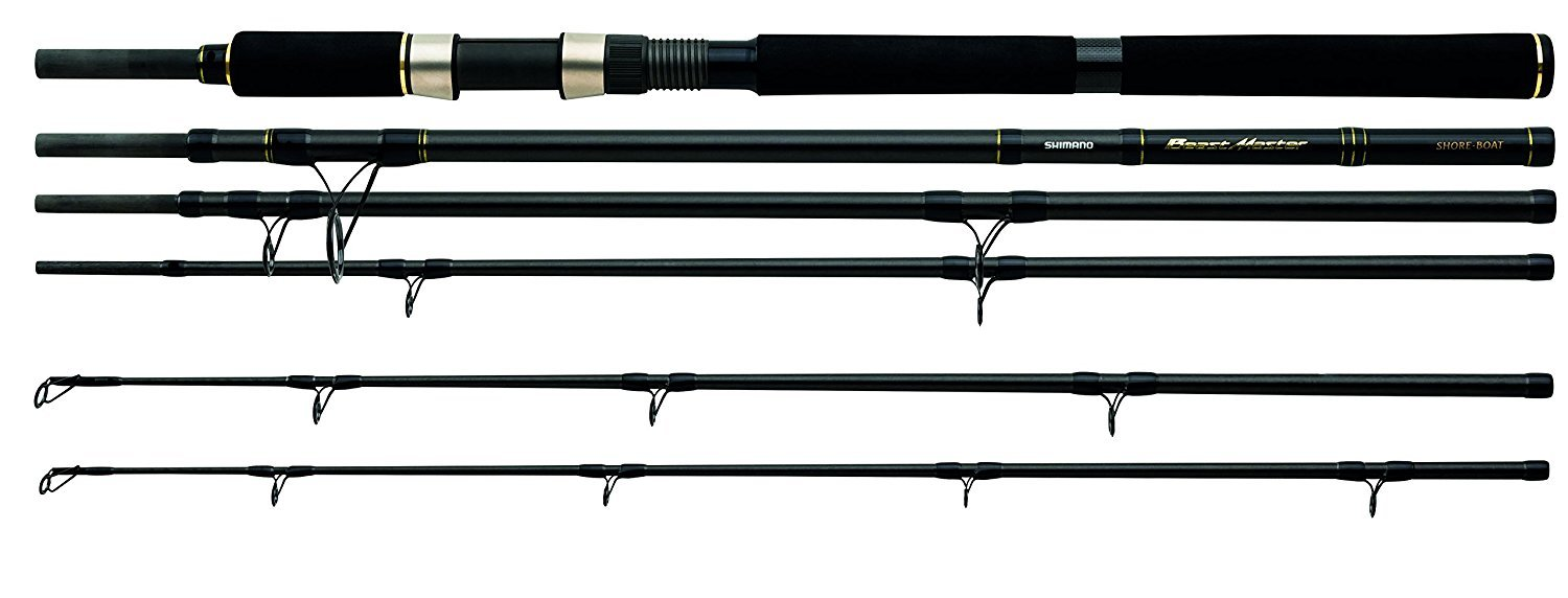Shimano Beastmaster S.T.C. Shore Boat Twin Tip 8 Feet / 10 Feet, Offshore Seafishing Travel Boat Fishing Rod, TBMSHBT3024