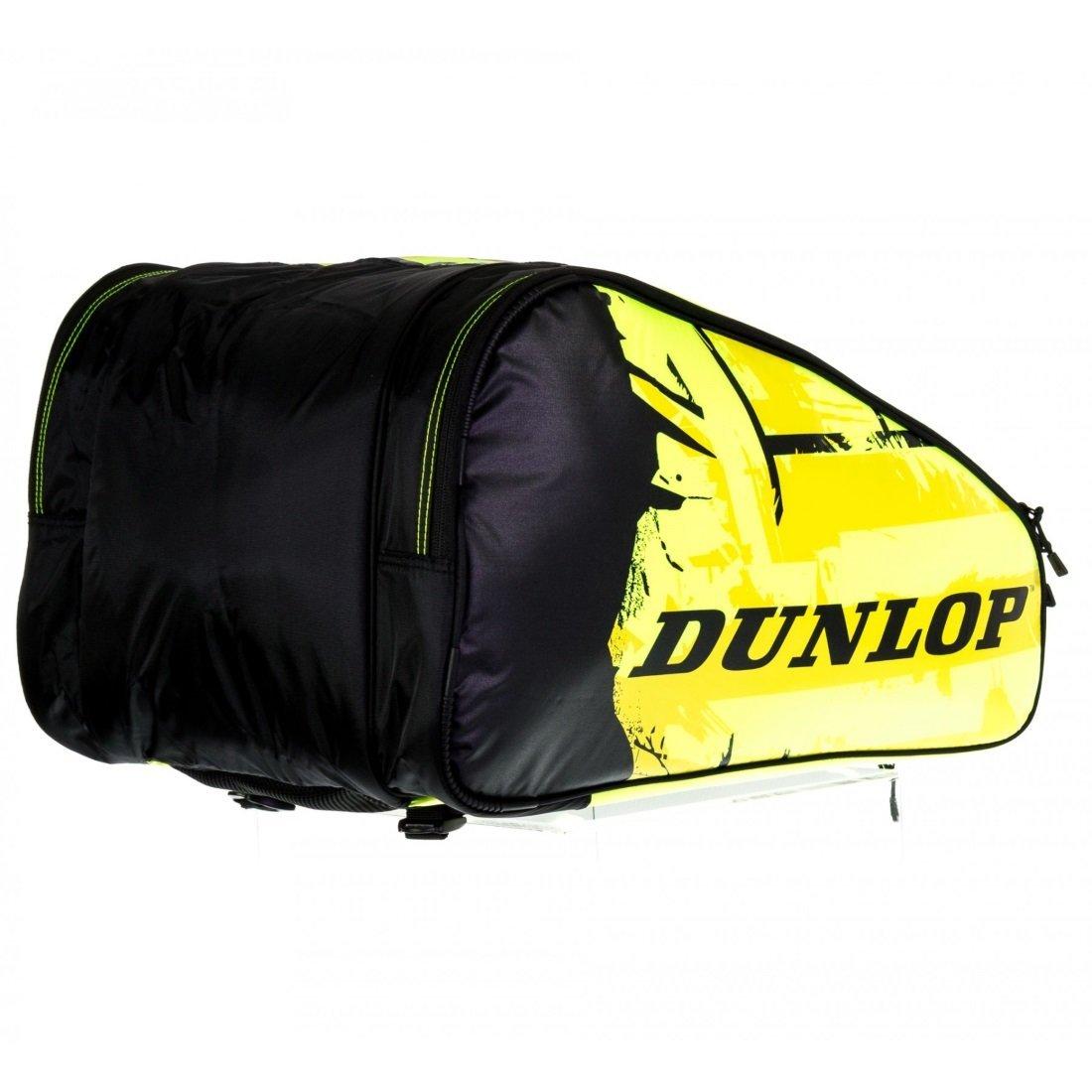 Dunlop Paletero Padel PRO negro / Amarillo: Amazon.es: Deportes y aire libre