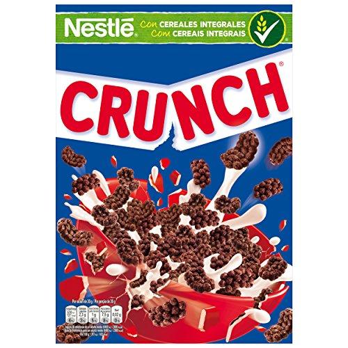 Nestlé Crunch, Krokante chocolade ontbijtgranen met volkoren granen, 375 g