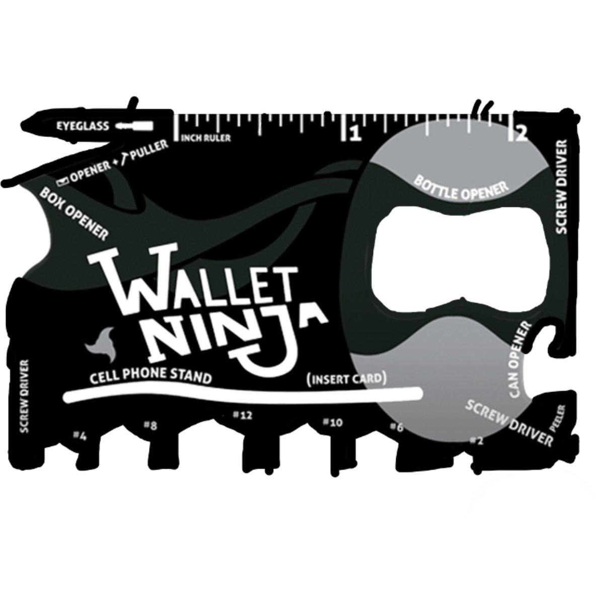 Viper Tactical Wallet Ninja 18 en 1 Multi Herramienta ...