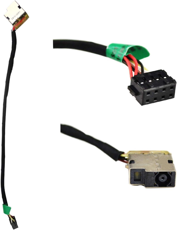 AC DC Jack Plug Power Socket Cable for HP Pavilion 15-e010us 15-e011nr 15-e012nr