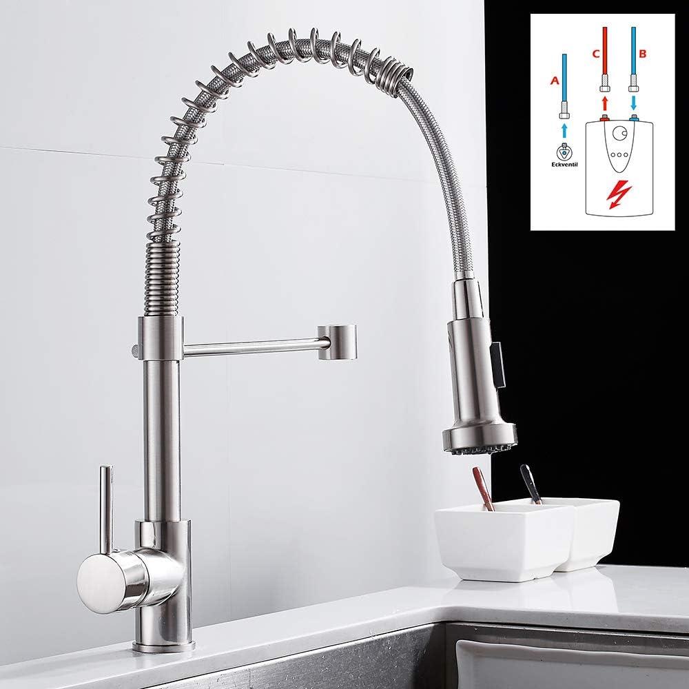 Niederdruck Wasserhahn Küche Einhebel Mischbatterien Küche