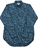 Schaefer Outfitters Men's Blue Frontier Paisley Western Snap Shirt Blue X-Large