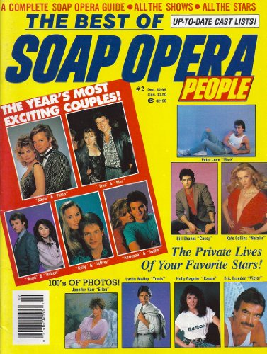 - Larkin Malloy, Eric Braeden, Tristan Rogers, Lane Davies, Krista Tesreau, Wally Kurth Centerfold Poster, On Location with One Life to Live - December, 1986 The Best of Soap Opera People #2