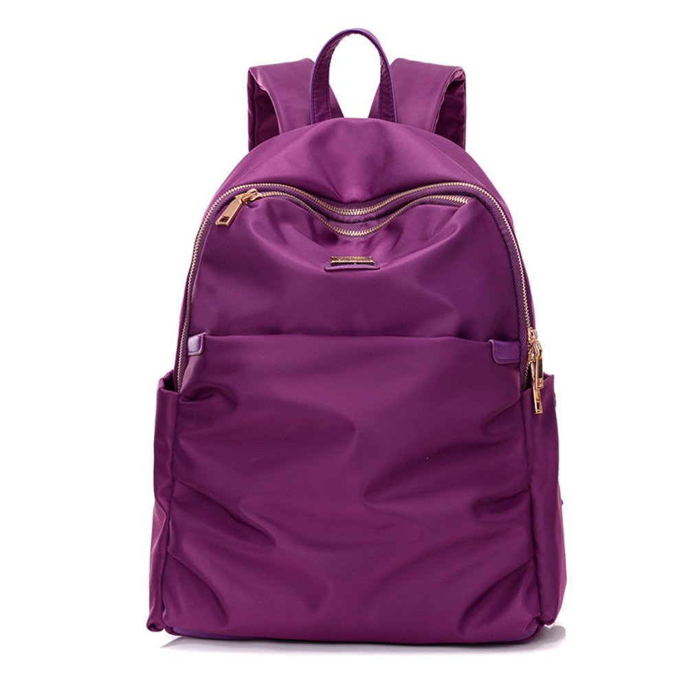 Korean version of the Lady tide package/Water Oxford cloth/Small nylon backpack/Lady backpack/Simple College wind bag-A